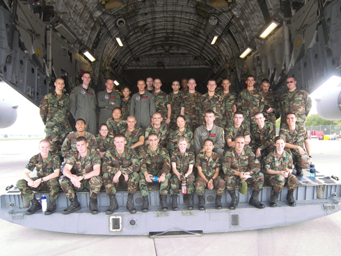 C-130 Orientation Flights planned for Air Force ROTC cadets