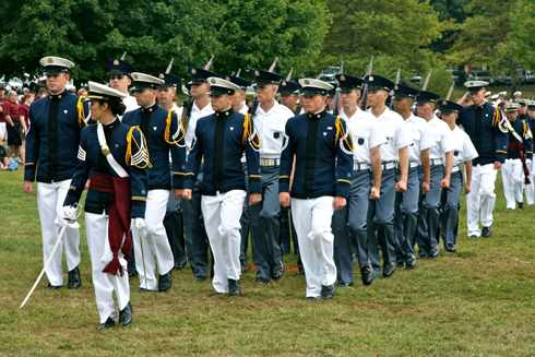 Parade Marking Entrance Of Class Of 2013 Into The Virginia